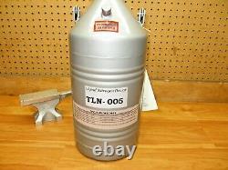 Technifab TLN-005 NEW Liquid Nitrogen Dewar 5 Liter