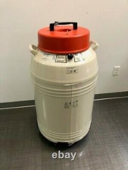 Thermo Fisher Liquid Nitrogen Locator 4 8144 Manual Fill Dewar