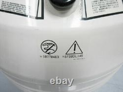 Thermolyne Locator 4 Cryogenic Liquid Nitrogen Storage Tank Dewar With Wheels