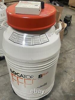 Thermolyne Locator 8 Cryo Biological Storage System (Liquid Nitrogen dewar)