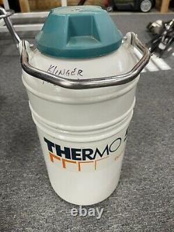 Thermolyne Thermo 5 Liquid Nitrogen Tank, Cryo Storage Tank, Ln2 Dewar
