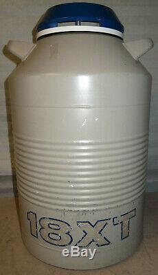 Union Carbide 18XT 18 Liter Cryogenic LN2 Liquid Nitrogen Dewar