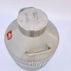 Union Carbide Linde Liquid Nitrogen Dewar Cryogenic Tank LR-31
