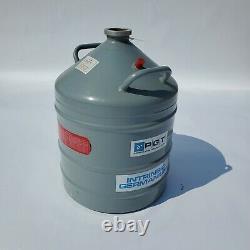 Union Carbide Linde Liquid Nitrogen Dewar Cryogenic Tank LR-31 Excellent