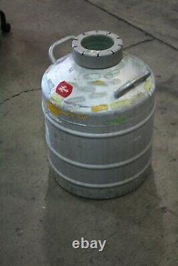 Union Carbide Linde Lr-30 Liquid Nitrogen Dewar
