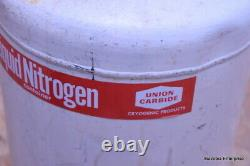 Union Carbide Liquid Nitrogen Container Dewar Cryogenic