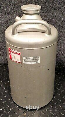 Union Carbide Liquid Nitrogen Cryogenics Dewar Ld-10b