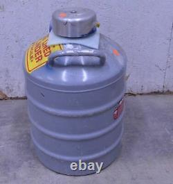 Union Carbide Liquid Nitrogen Storage Dewar Cryogenic Vessel