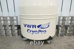 VWR Cryopro BR1 Liquid Nitrogen Dewar with Warranty SEE VIDEO