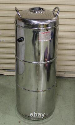 Wessington Cryogenics ES Series ES50 SS Liquid Nitrogen Storage Dewar