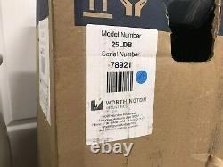 Worthington 25LDB Liquid Nitrogen Storage Dewar 25 L, 109 Day Static Hold