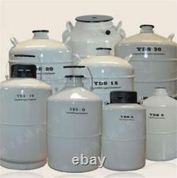 YDS-3 3L Cryogenic Liquid Nitrogen Container LN2 Tank Dewar With Straps New za