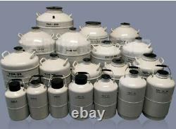 YDS-3 Liquid Nitrogen Dewar Tank Aluminum Alloy Cryogenic Nitrogen Container 3L