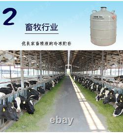 YDS-6 6L Protable Cryogenics Liquid Nitrogen Container Cryogenic LN2 Tank Dewar